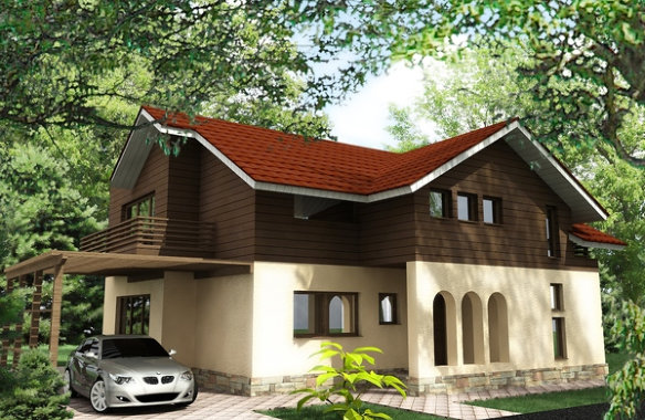 Dorin House|Architectural 3D rendering