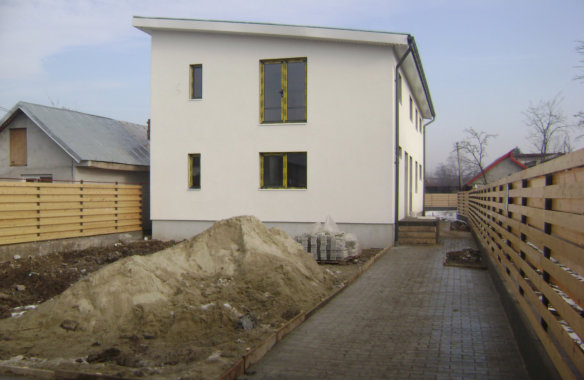 Tănase House|Finished exterior